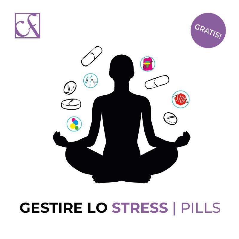 gestire lo stress pills